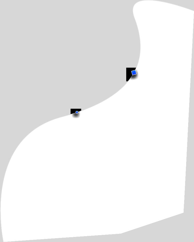 vrtical shape